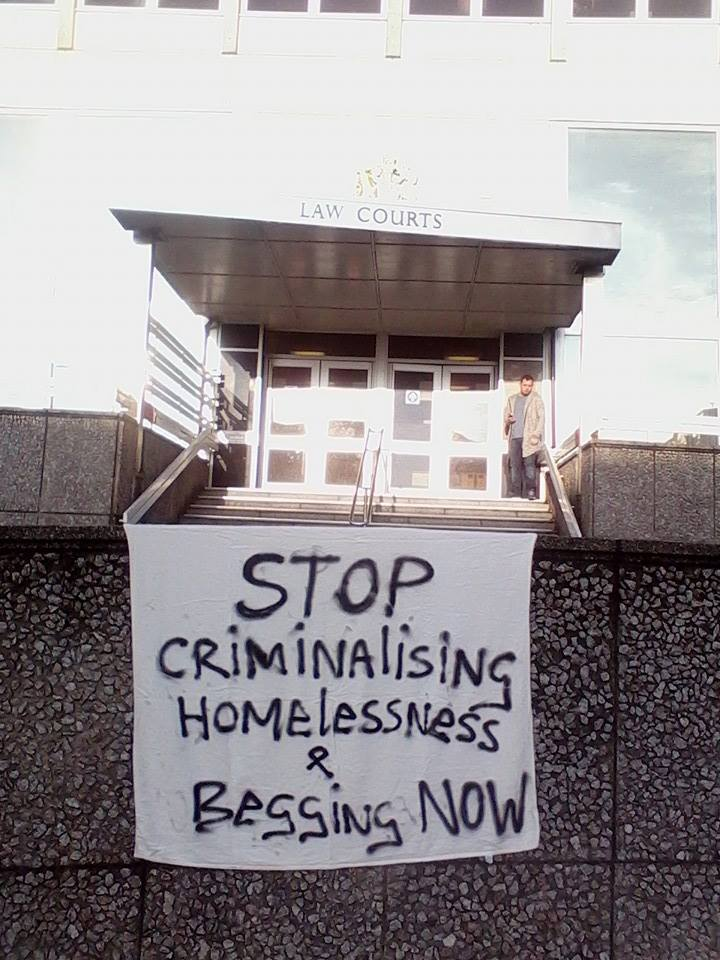 stop criminalising homelessness