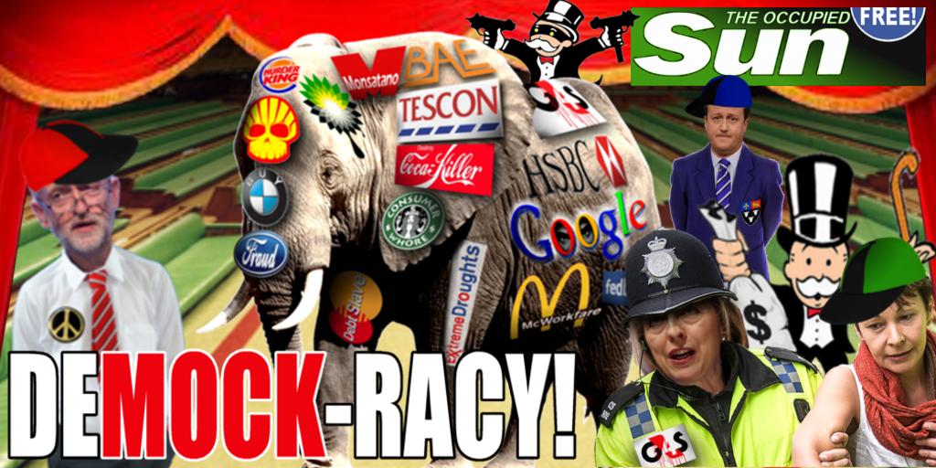 DeMOCKracy banner