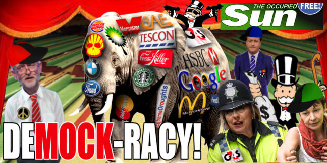 DeMOCKracy banner