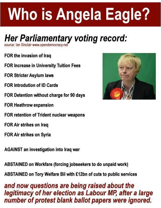 who is angela eagle