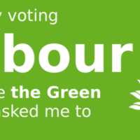 I'm only voting Labour because the Green Party asked me to