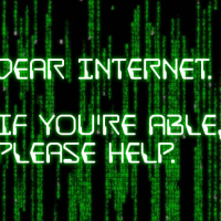 Dear internet: if you're able, please help.