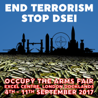 End Terrorism #StopDSEI - Occupy The Arms Fair [meme]