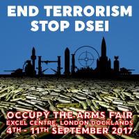 End Terrorism #StopDSEI - Occupy The Arms Fair [meme]