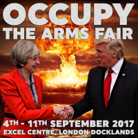 SPECIAL RELATIONSHIP - Occupy The Arms Fair [meme]