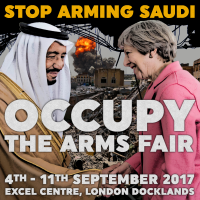 STOP ARMING SAUDI - Occupy The Arms Fair [meme]