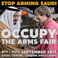 STOP ARMING SAUDI - Occupy The Arms Fair [meme]