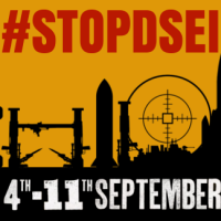 Stop The Arms Fair release schedule for week of action against #DSEI