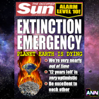 EXTINCTION EMERGENCY - ALARM LEVEL 10!