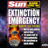 EXTINCTION EMERGENCY - ALARM LEVEL 10!